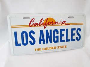 Number Plate - LOS ANGELES in Lahore