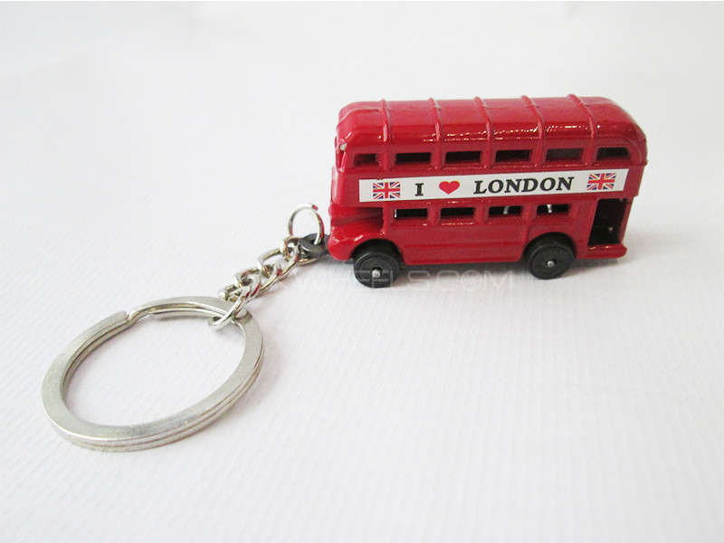 Key Chain - London Bus Image-1