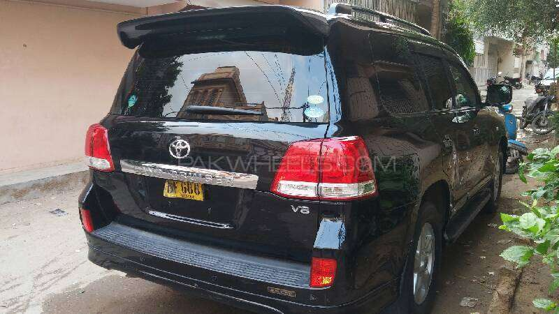Toyota Land Cruiser AX G Selection 2008 Image-8