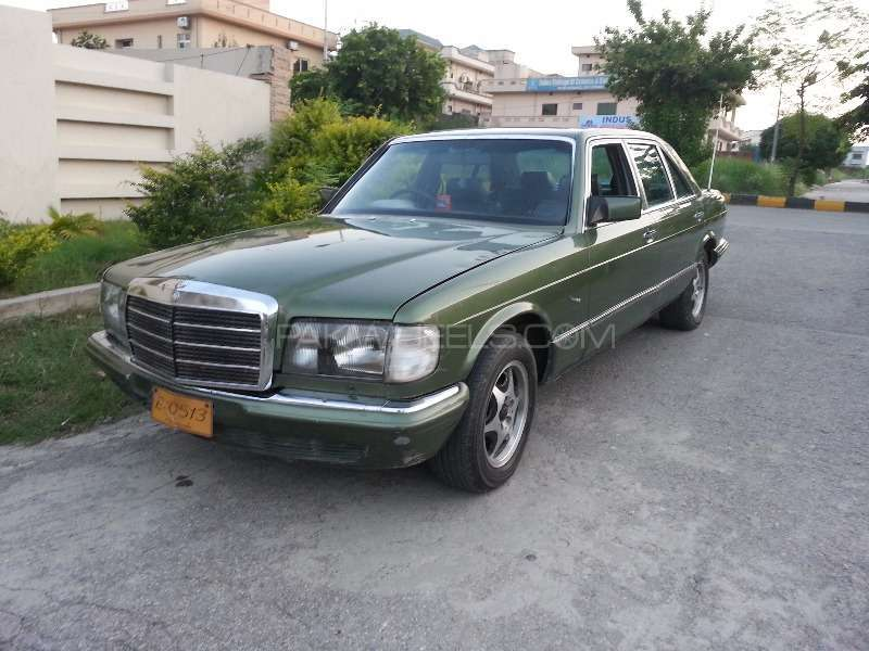 Mercedes benz s class 500sel 1984 for sale in islamabad for Used mercedes benz rims for sale