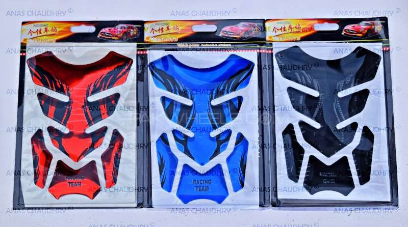 Racing Team 3D Tank Protection Pads Available Image-1