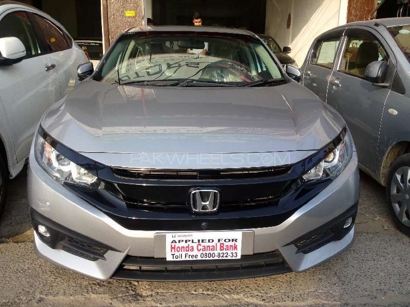 honda civic turbo 1 5 vtec cvt 2016 for sale in lahore. Black Bedroom Furniture Sets. Home Design Ideas