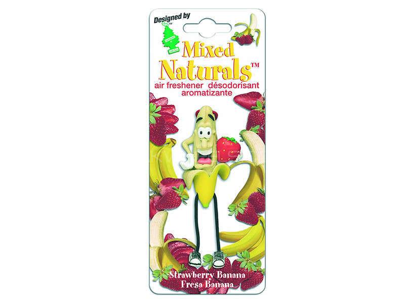 LITTLE TREE MIXED NATURAL - Strawberry Banana Image-1