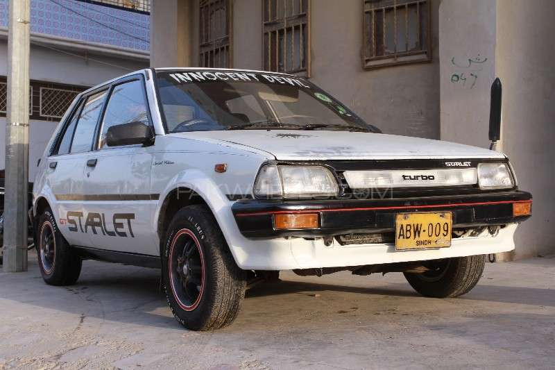 Toyota Starlet 1.3 1986 Image-8
