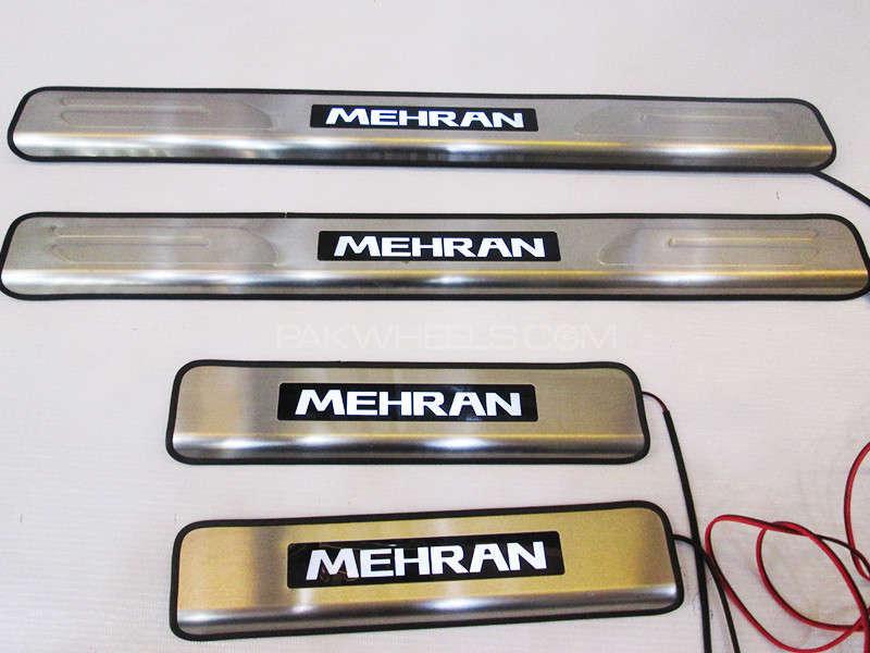 Suzuki Mehran Scuff Plates - With Lights Image-1