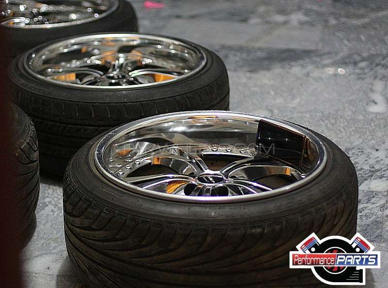 18inch Deepdish Rims & tyres Image-1