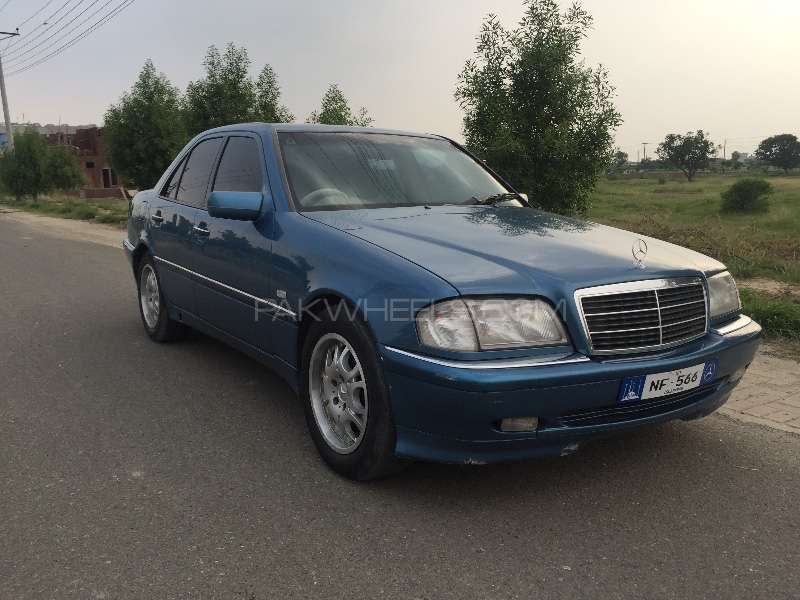 Mercedes benz c class c180 1998 for sale in lahore pakwheels for Mercedes benz c class 1998