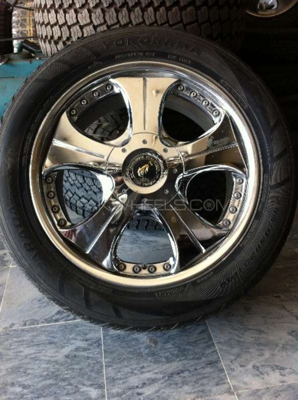 "20"" Alloy Rims Chrome Japanese  Image-1"