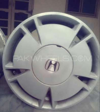 Honda reborn hybrid genuine alloy rims with tyres Image-1