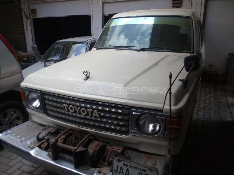 Toyota Land Cruiser VX Limited 4.2D 1984 Image-1