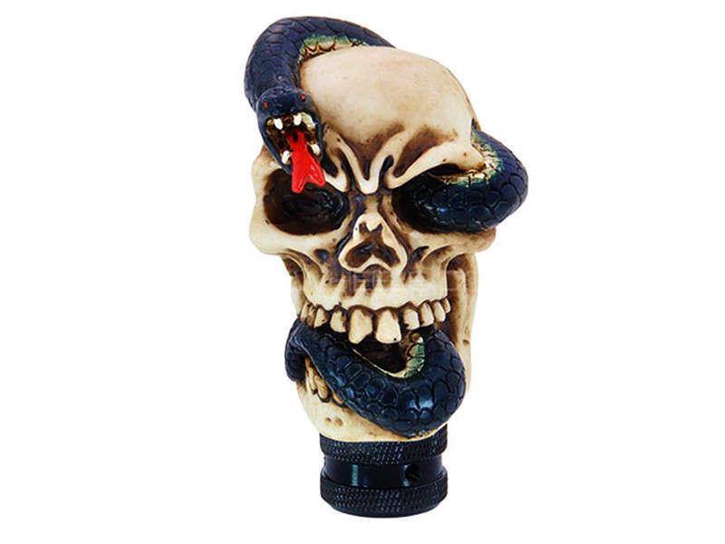 Gear Knob Skull & Snake - PA10 Image-1