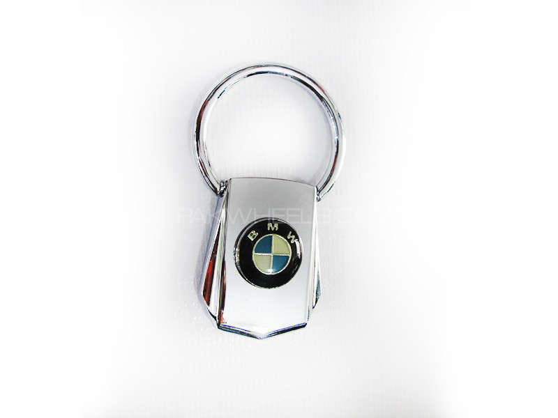 Key Chain BMW Silver Pure Metal - PA10 Image-1