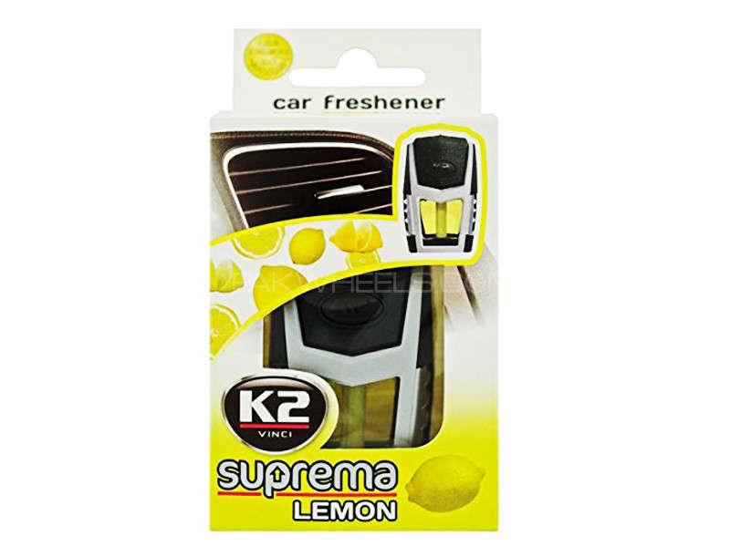 Suprema - Lemon - Air Freshener - A/C Grill - K2- PA10 Image-1