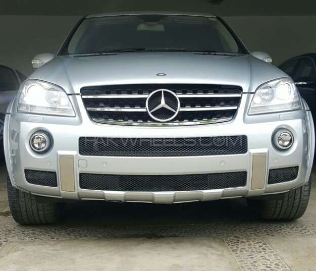 mercedes benz m class ml 63 amg 2008 for sale in karachi pakwheels. Black Bedroom Furniture Sets. Home Design Ideas