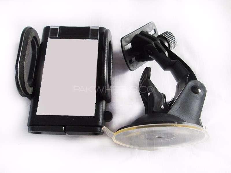 Universal Car Mobile Holder Black - PA10 Image-1