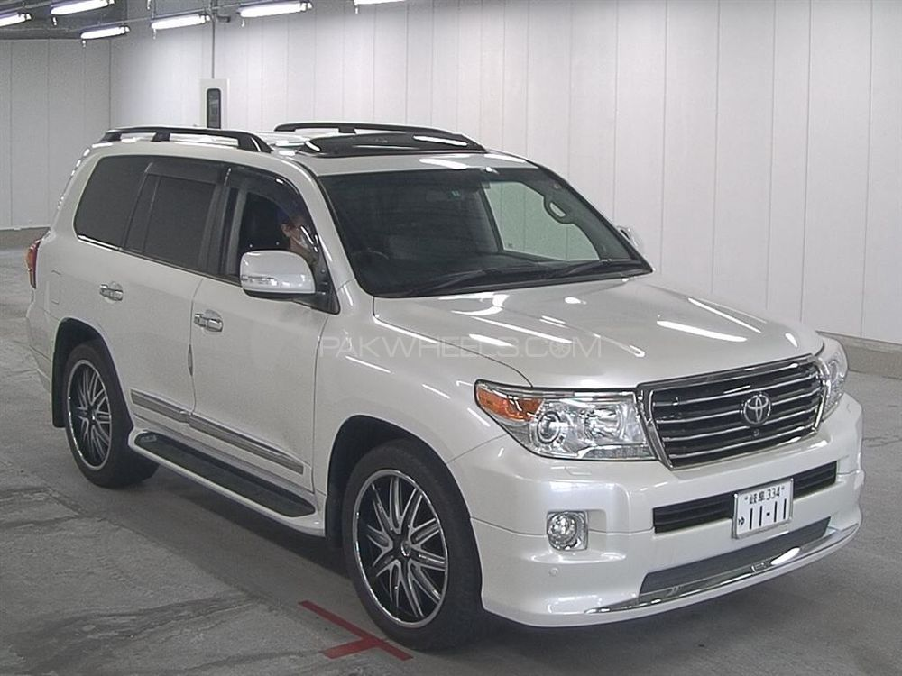 toyota land cruiser zx 2013 for sale in lahore pakwheels. Black Bedroom Furniture Sets. Home Design Ideas