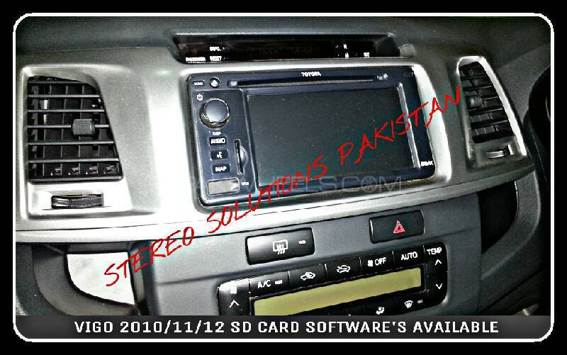 TOYOTA VIGO NAVIGATION SD CARD AVAILABLE . Image-1