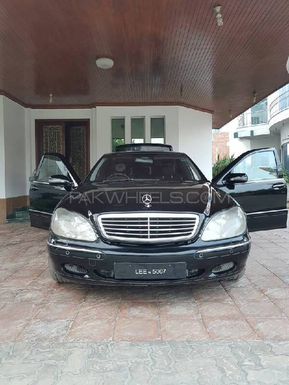 Mercedes benz s class 2002 for sale in lahore pakwheels for Mercedes benz 2002 s500 for sale