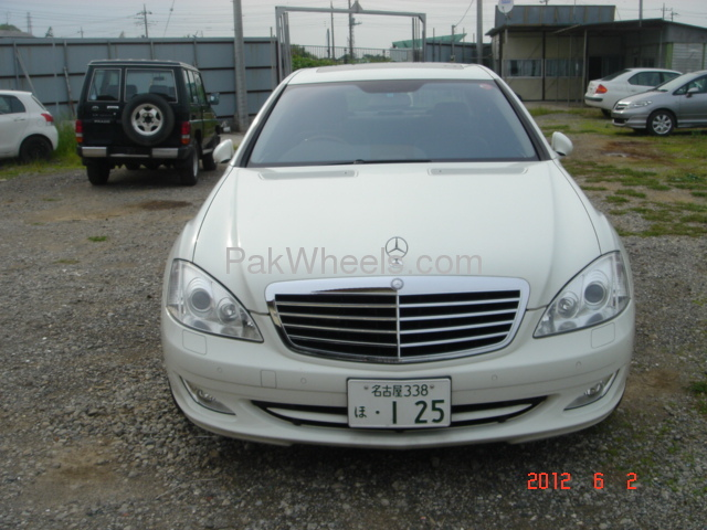Mercedes benz s class s500 2008 for sale in lahore pakwheels for Mercedes benz s500 2008