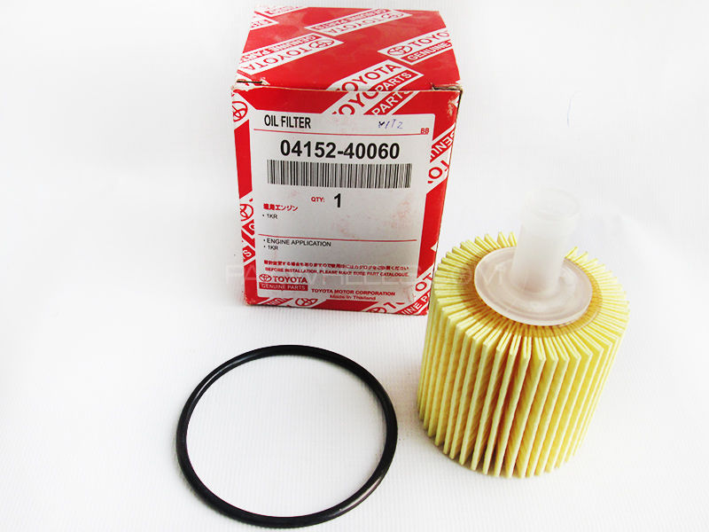 Oil Filter Toyota Vitz New - 04152-40060 in Lahore