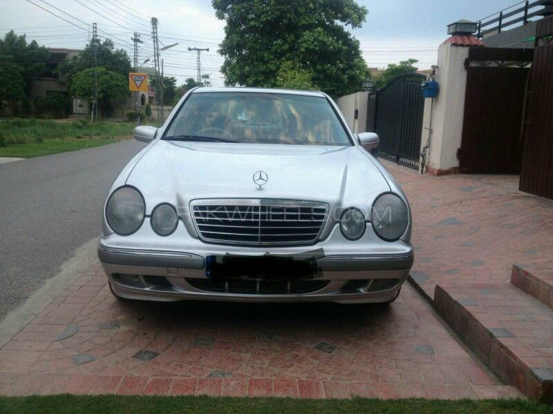Mercedes benz e series 2000 for sale in lahore pakwheels for Mercedes benz e series for sale