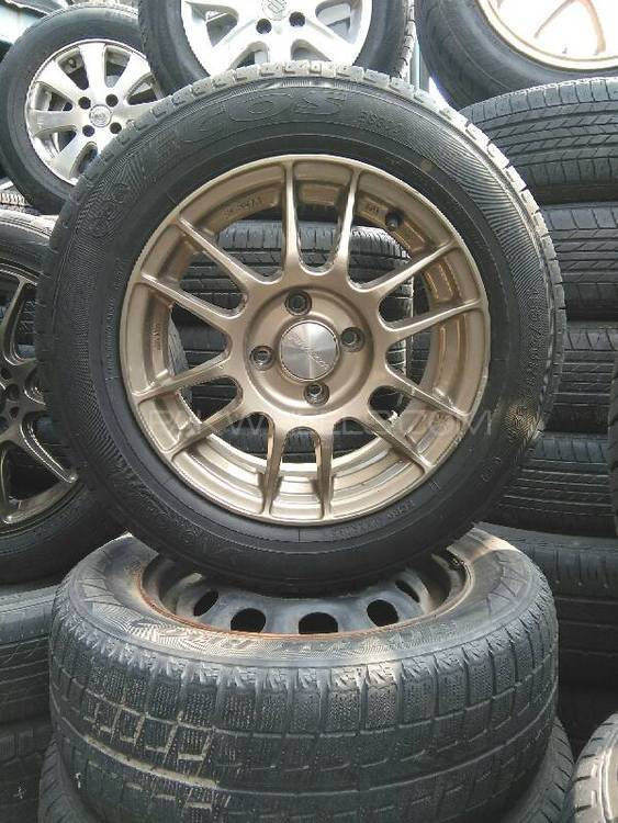 Original Japanese Enkei 14 Inch Lightweight Rims For Sell Image-1