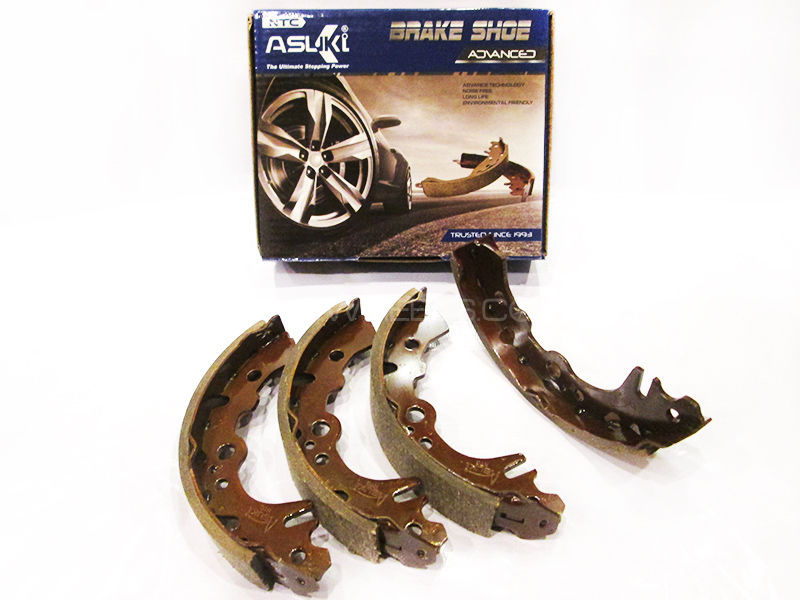 Suzuki Chamber, Bolan Asuki Advanced Rear Brake Shoe  A-9910 Image-1
