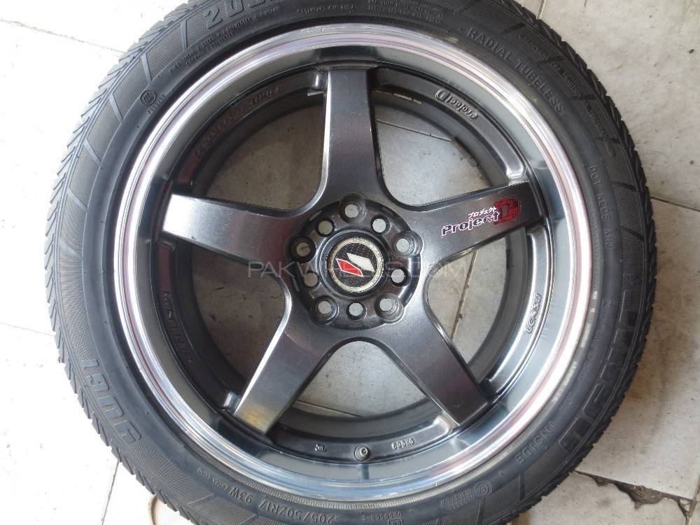 Lenso Project D 17inch Alloy Rims Image-1