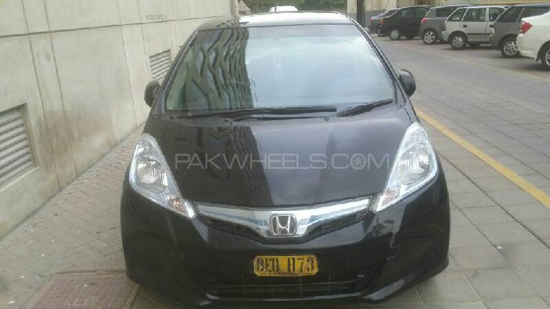 Honda Fit Hybrid Navi Premium Selection 2012 Image-1