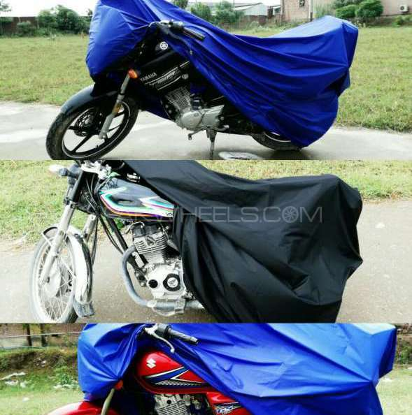 Pack of 2 Motorcycle Top Cover - Waterproof Image-1