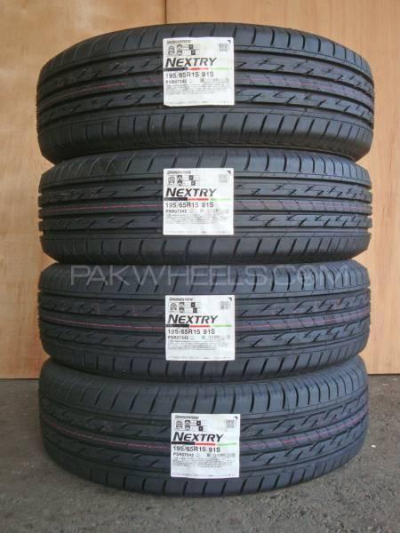 4 tyres 195/65/R15 Bridgestone Nextry Japani 2016 Brand New Image-1