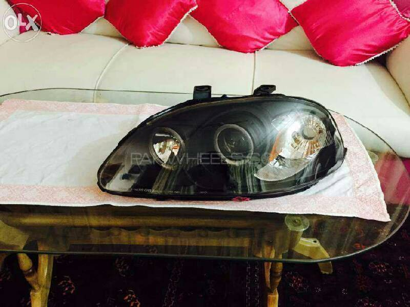 Honda Civic 96 98 Front Projector Lights For Sell Image-1