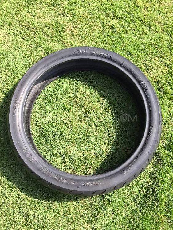 Heavy Bike Suzuki GS500 110/70 17 Rotational Front Tire Tyre Image-1