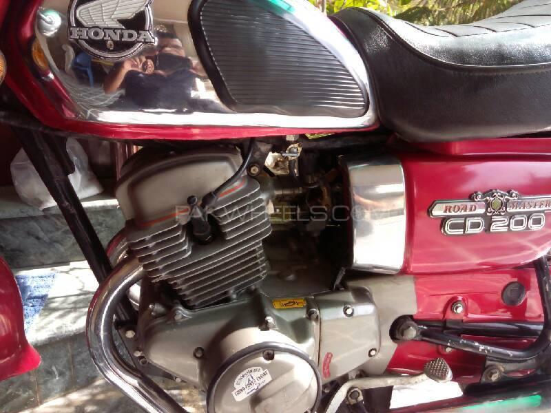 Honda CD 200  1986 Image-1