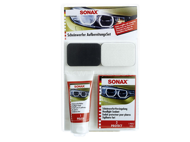 Sonax Headlight Restoration Set Image-1