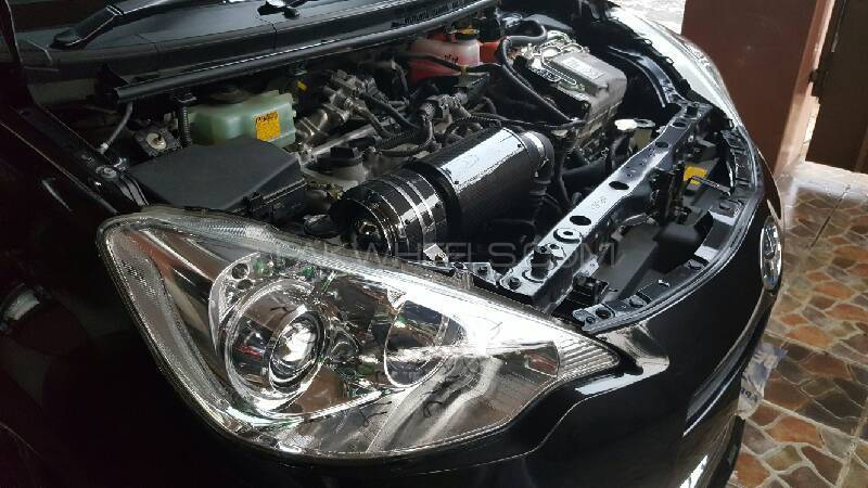 carbonfiber double filter air intake system Image-1