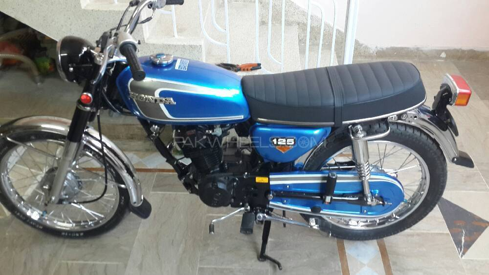 Honda CB 180 1971 Image-1