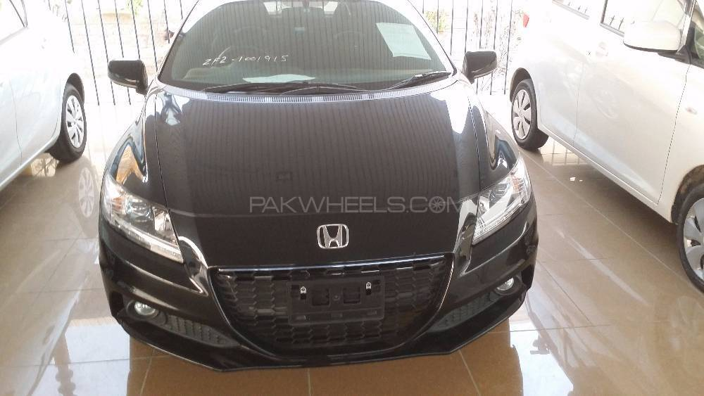 Honda CR-Z Sports Hybrid Alpha Black Label 2013 Image-1