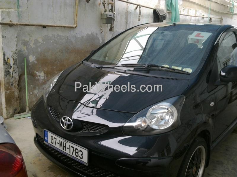 toyota aygo 2007 for sale in karachi pakwheels. Black Bedroom Furniture Sets. Home Design Ideas