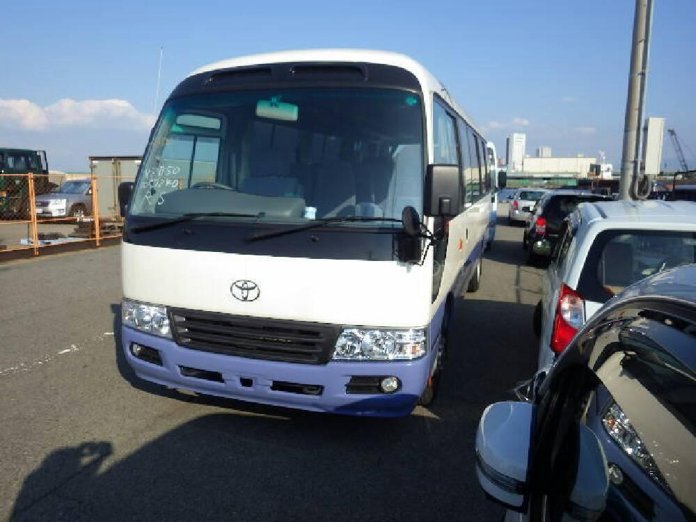 Toyota Coaster 30 Seater F/L 2013 Image-1
