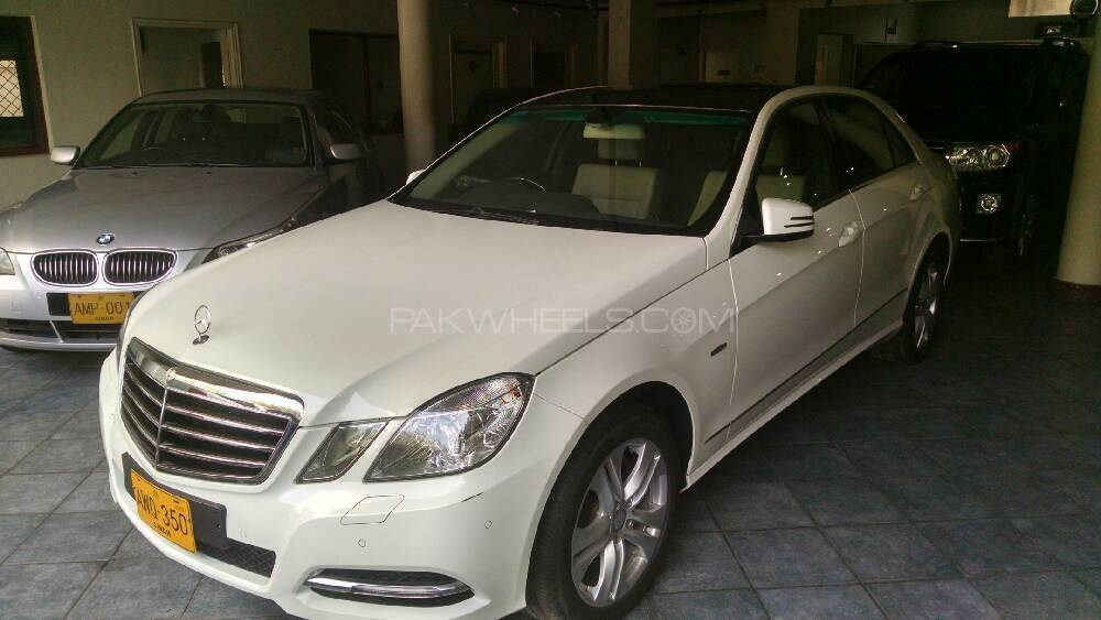 Mercedes Benz E Class E250 2012 For Sale In Karachi