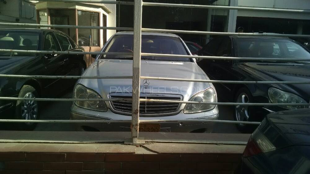 Mercedes benz s class s 320 2000 for sale in karachi for Mercedes benz s class 2000