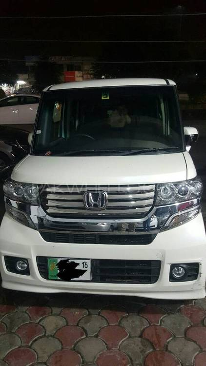 Honda N Box Plus Custom G-L PACKAGE 2012 Image-1