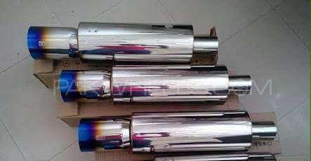 HKS burntip mufflers Image-1