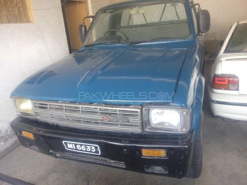 Toyota Hilux 4x2 Single Cab Standard 1983 Image-1