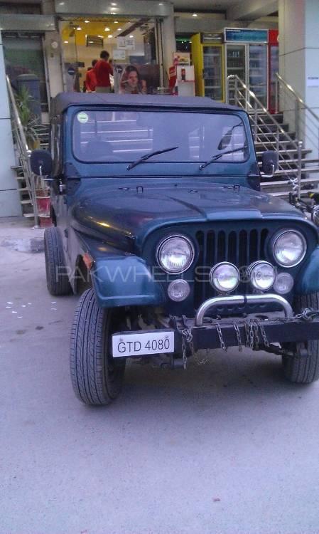 Jeep CJ-5 1982 Image-1
