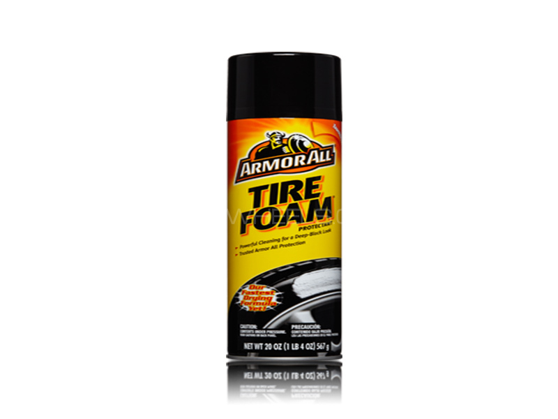 ARMORALL Tire Foam 4oz/118ml Image-1