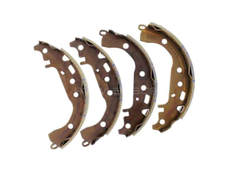 Toyota Vitz New Genuine Rear Brake Shoe 2005-2011 in Lahore