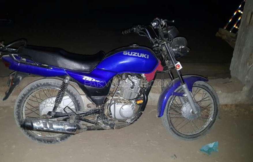 Suzuki GD 110 2013 Image-1