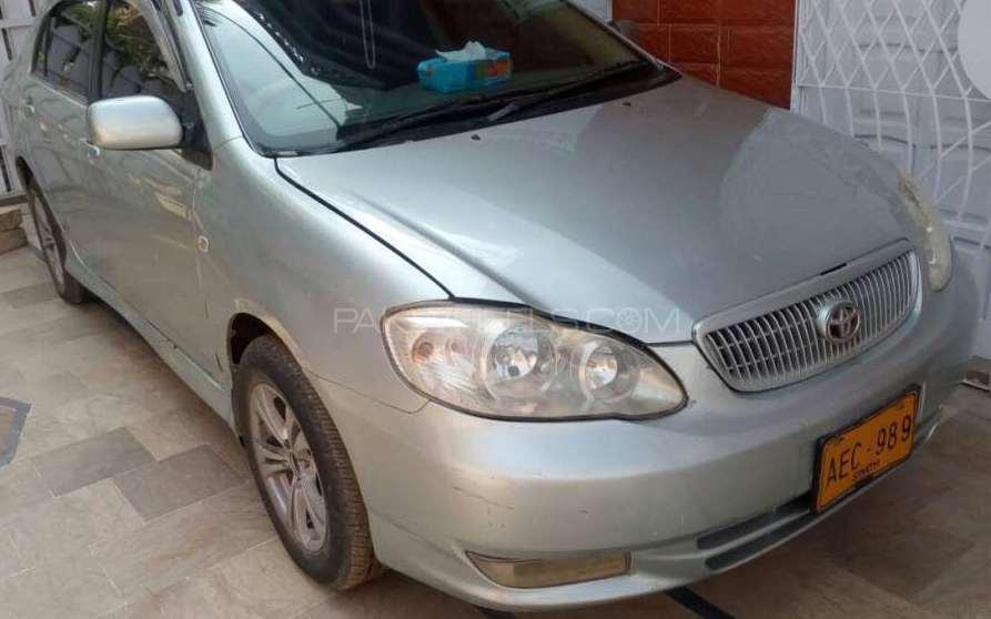 Toyota Corolla SE Saloon 2002 Image-1